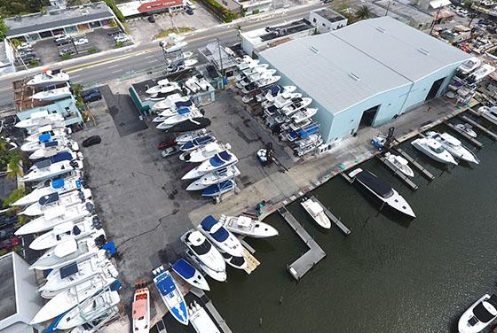 boat storage miami north beach marina